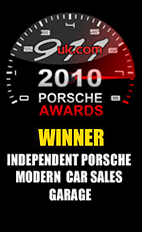 Independent Porsche Modern Car Sales Garage award 2010