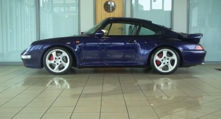 Blue Porsche