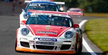 Caine racing in Porsche