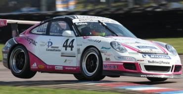 Porsche cornering