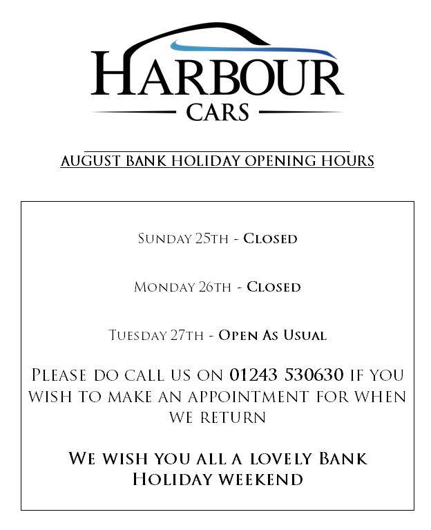 Bank Holiday Opening